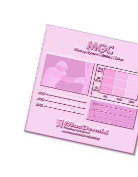 MGC -analogue plate-