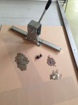 Kit for pre-mounting flexo sheet